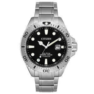 [シチズン]Citizen 腕時計 Numbered LE EcoDrive Titanium Dive Watch BN0141-53E メンズ
