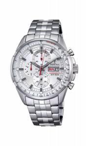 フェスティナ Festina CHRONO Men's Quartz Watch with Silver Dial Chronograph Display F6844/1