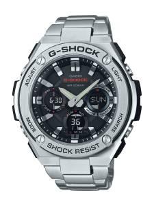 [カシオ]Casio 'G SHOCK' Quartz Resin and Stainless Steel Casual Watch, GST-S110D-1ACR