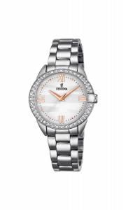 フェスティナ Festina Women's Quartz Watch with Black Dial Analogue Display Quartz F16919/1