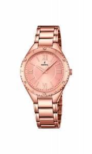 フェスティナ Festina Women's Quartz Watch with Black Dial Analogue Display Quartz F16922/2