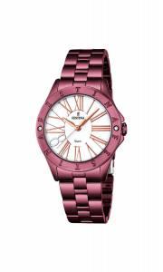 フェスティナ Festina Women's Quartz Watch with Black Dial Analogue Display Quartz F16928/1