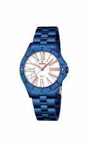 フェスティナ Festina Women's Quartz Watch with Black Dial Analogue Display Quartz F16927/1