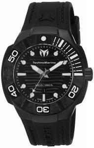 [テクノマリーン]TechnoMarine 'Black Reef' Swiss Quartz Stainless Steel Casual Watch TM-515012