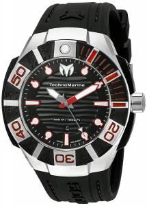 [テクノマリーン]TechnoMarine 'Black Reef' Swiss Quartz Stainless Steel Casual Watch TM-515010