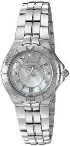 [テクノマリーン]TechnoMarine  Sea Pearl Analog Display Swiss Quartz Silver Watch TM-715007