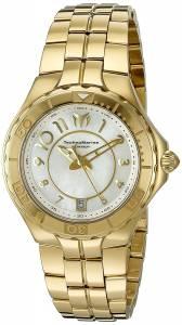 [テクノマリーン]TechnoMarine  Sea Pearl Analog Display Swiss Quartz Gold Watch TM-715009