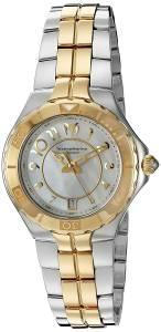 [テクノマリーン]TechnoMarine Sea Pearl Analog Display Swiss Quartz Two Tone Watch TM-715008