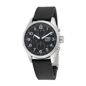 [オリス]Oris Big Crown ProPilot Chronograph Black Dial Black 01 774 7699 4134-07 5 22 15FC