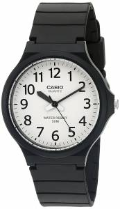 [カシオ]Casio 腕時計 'Easy To Read' Quartz Black Casual Watch MW240-7BV メンズ [逆輸入]