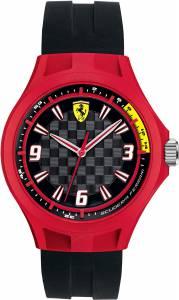 [フェラーリ]Ferrari 腕時計 Scuderia Pit Crew Silicone Watch 0830284 メンズ