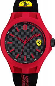[フェラーリ]Ferrari 腕時計 Scuderia Pit Crew Silicone Watch 0830287 メンズ