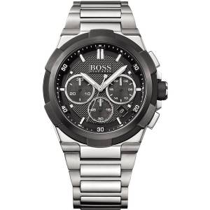 [ヒューゴボス]HUGO BOSS 腕時計 BLACK Chronograph Watch w/ Date 1513359 メンズ
