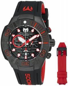 [テクノマリーン]TechnoMarine 'Black Reef' Swiss Quartz Stainless Steel Casual Watch TM-515018