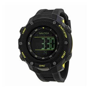 [ノーティカ]Nautica 腕時計 NMX 15 Black Dial Digital Watch NAI19523G メンズ
