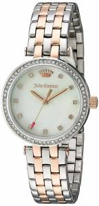 [ジューシークチュール]Juicy Couture  'Cali' Quartz Stainless Steel Quartz Watch, 1901471