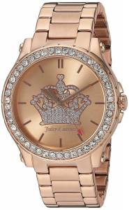 [ジューシークチュール]Juicy Couture  'Hollywood' Quartz Gold Quartz Watch 1901473