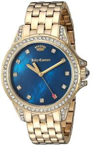 [ジューシークチュール]Juicy Couture  'Malibu' Quartz Tone and Gold Plated Casual 1901492