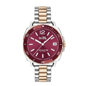 [コーチ]Coach  Tatum 34mm Bracelet with Aluminum Bezel TwoTone/Carnation Watch 14502640