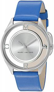 [マーク ジェイコブス]Marc Jacobs  Tether Blue Leather Watch MJ1458 レディース