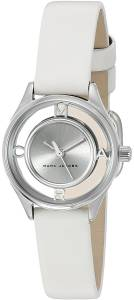 [マーク ジェイコブス]Marc Jacobs  Tether White Leather Watch MJ1460 レディース