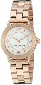 [マーク ジェイコブス]Marc Jacobs  Riley Rose GoldTone Watch MJ3474 レディース