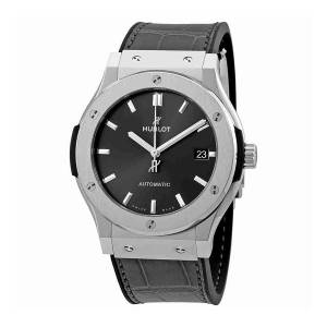 [ウブロ]Hublot 腕時計 Classic Fusion Racing Grey Titanium 45mm Watch 511.NX.7071.LR メンズ