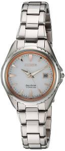 [シチズン]Citizen  ' Quartz Titanium Casual Watch, Color:SilverToned EW2410-54A レディース