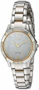 [シチズン]Citizen 'EcoDrive Diamond' Quartz Stainless Steel Dress Watch, Color:Two EM0454-52A