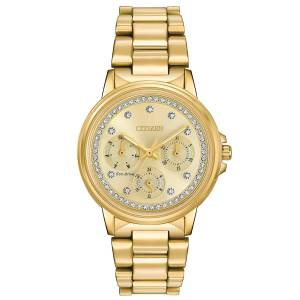 [シチズン]Citizen 腕時計 Gold Bracelet Band Gold Dial Watch FD2042-51P メンズ [逆輸入]