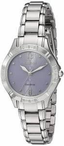 [シチズン]Citizen 'EcoDrive Diamond' Quartz Stainless Steel Dress Watch, EM0450-53X