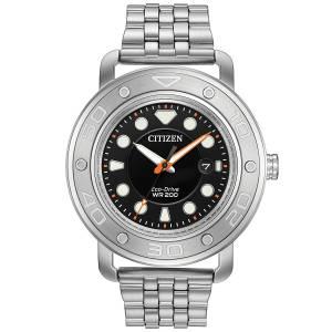 [シチズン]Citizen 腕時計 EcoDrive Dual Bracelet and Strap Watch w/ Date AW1530-65E メンズ