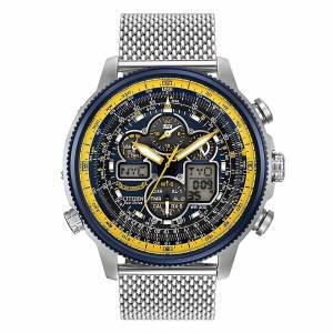 [シチズン]Citizen  EcoDrive Blue Angel Navihawk AT Chronograph World Watch JY8031-56L メンズ