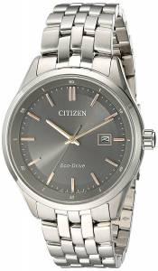 [シチズン]Citizen  'EcoDrive Dress' Quartz Stainless Steel Watch, Color:SilverToned BM7251-53H