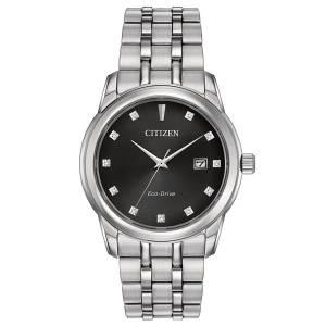 [シチズン]Citizen 腕時計 EcoDrive Stainless Steel Crystal Watch w/ Date BM7340-55E メンズ