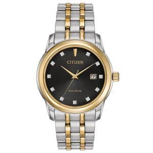 [シチズン]Citizen 腕時計 EcoDrive MenÕs TwoTone Crystal Watch w/ Date BM7344-54E [逆輸入]