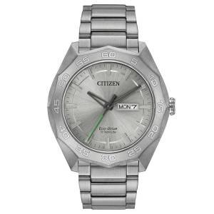 [シチズン]Citizen 腕時計 EcoDrive Titanium Watch w/ DayDate AW0060-54A メンズ [逆輸入]