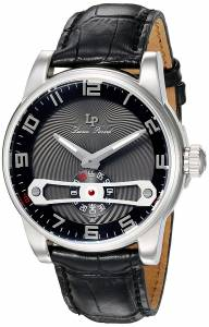 [ルシアン ピカール]Lucien Piccard 'Bosphorus' Quartz Stainless Steel and Leather LP-40046-01