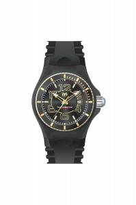 [テクノマリーン]TechnoMarine  Cruise JellyFish Quartz Black Dial Watch TM-115131