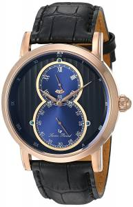 [ルシアン ピカール]Lucien Piccard 'Infinity' Quartz Stainless Steel and LP-40044-RG-01-BLA