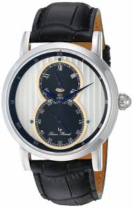 [ルシアン ピカール]Lucien Piccard 'Infinity' Quartz Stainless Steel and LP-40044-02S-RA