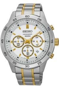 [セイコー]Seiko Watches SEIKO ,Men's Chronograph,Stainless Steel Case & Bracelet,Silver SKS523P1