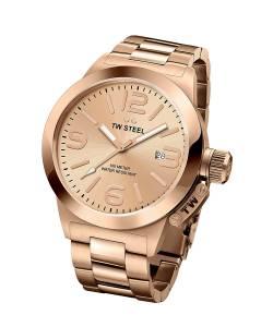 [ティーダブルスティール]TW Steel 腕時計 'Canteen' Quartz Gold Watch CB402