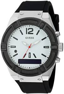 [ゲス]GUESS  CONNECT Smartwatch with Amazon Alexa and Silicone Strap Buckle iOS and C0001G4