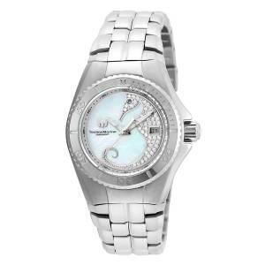[テクノマリーン]TechnoMarine TechnoMarine Steel Bracelet & Case Swiss Quartz White TM-115286