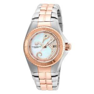 [テクノマリーン]TechnoMarine TechnoMarine Rose GoldTone Steel Bracelet & Case Swiss TM-115290