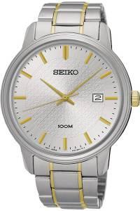 [セイコー]Seiko Watches SEIKO ,Men's Date,Stainless Steel Case & Bracelet,Hardlex SUR197P1