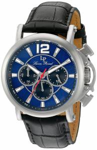 [ルシアン ピカール]Lucien Piccard 'Triomf' Quartz Stainless Steel and Leather LP-40018C-03