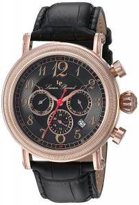 [ルシアン ピカール]Lucien Piccard 'Capri' Quartz Stainless Steel and Leather LP-40030-RG-01