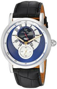 [ルシアン ピカール]Lucien Piccard 'Santorini' Quartz Stainless Steel and Leather LP-40043-03